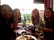 Dinner in Paris!