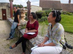 Meghann, Rita and Victor