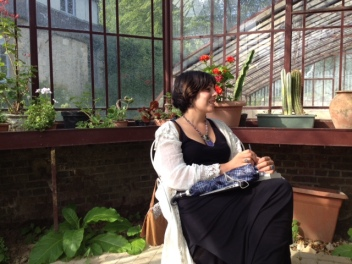 Norma in the green house