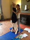 Perfecting headstands