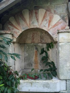 Stone work on the grounds