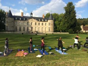 Yoga by the Chateau