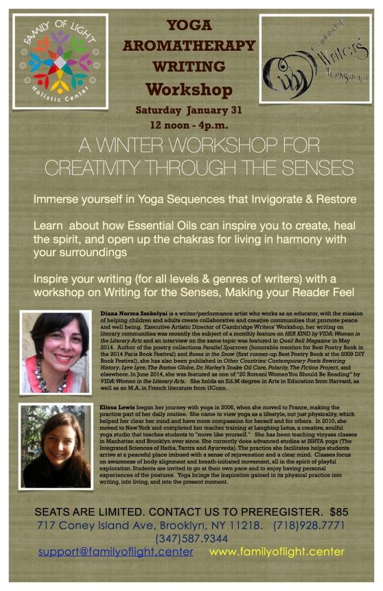 Jan 31 Creativity through the Senses Workshop copy