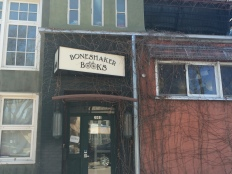 Boneshaker Books, a small bookstore that hosted the CWW's annual AWP reading.