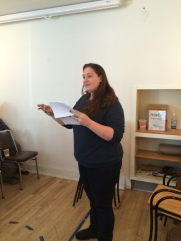 "Jessica Piazza read poems from her collections ""Interrobang"" and ""This is Not a Sky."""