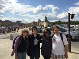 Some of our staff and participants at Versailles