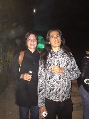 CWW Staff Diana Norma Szokolyai and Victor Pachas