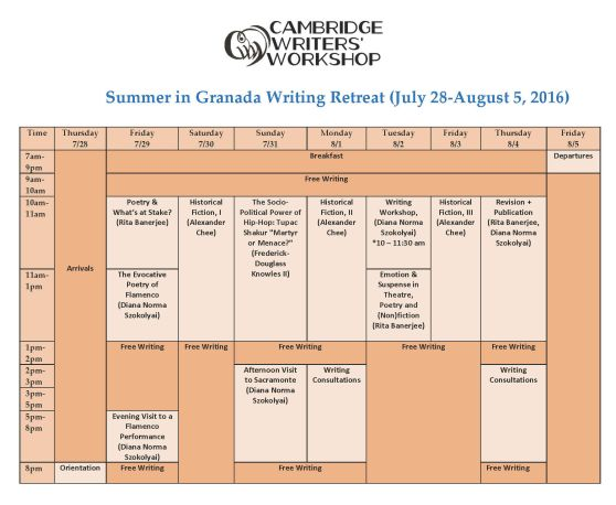 Granada-July7Schedule