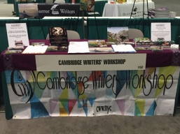 Cambridge Writers' Workshop Booth at AWP 2016