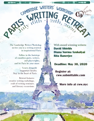 CWW Paris Retreat 2020 Poster